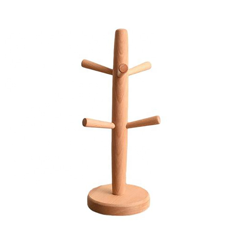 Wooden Cup Drying Rack
