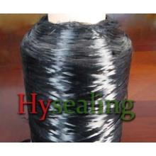 Пряжа с высоким содержанием углеродного волокна с превосходным качеством прочности