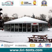 La tente de Multi-Side de tente de salle à manger d'hôtel de décoration de tente de Bespoke avec la décoration de luxe