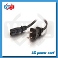 CUL approval 125v 2.5a 10a 2 pin canada ac power cord