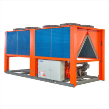 China R407c/ R410A/ R22 100rt Air Cooled Screw Industrial Water Chiller / Factory