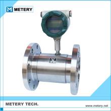 Low cost alcohol water turbine flow meter