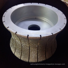 diamond electroplated water grinding wheel for stone
