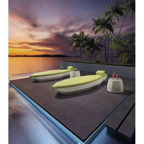 Special Design Single Outdoor Leisure Wicker Sunbed