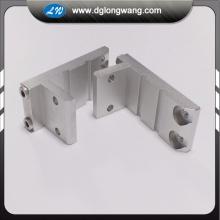 Fresado CNC de cinco ejes mecanizado de piezas de aluminio.