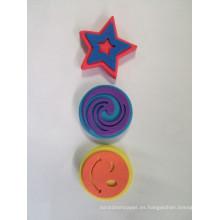niños sello de goma eva