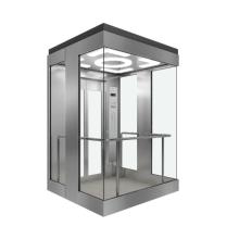 Ascenseur touristique avec cabine carrée