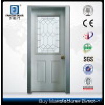 Glass Half Lite Prehung Steel Entry Door