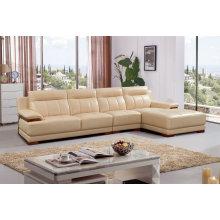Modern L Shape Sofa, Modern Leather Sofa (SA27)