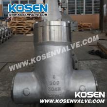 API 600 Cast Steel Pressure Sealed Gate Ventile