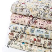 Tissu de polyester de conception d'enfants pour le drap