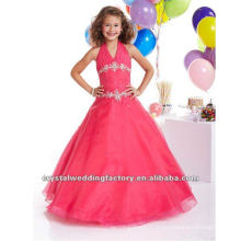 Vente chaude en satin V en élastique appliqué robe à robe enroulée robe de soirée sur mesure robe de cérémonie CWFaf4813