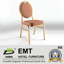 Estilo conciso de la boda de metal redonda banquete silla (emt-r38)