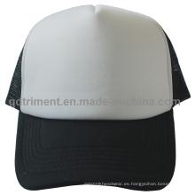 Promoción esponja de poliéster de deporte Mesh Trucker Cap Hat (TMT0054A-1)