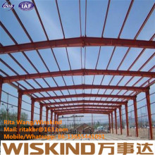 Wiskind Construction Steel Structure Alta Resistência Qualidade Superior