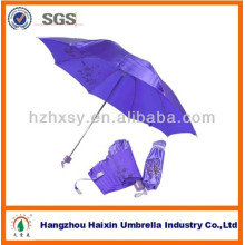 3 parapluie pliant en tissu satiné
