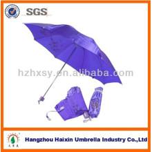 3 Складной Зонтик Ткани Сатинировки