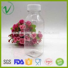 Упаковка фруктового сока пустой квадратный ПЭТ 350 мл сок пластиковая бутылка от Шэньчжэня поставщик