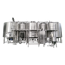 304 stainless steel beer brewery system 500l beer brewing equipment for pub