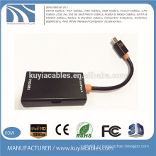 Micro USB для HDMI-адаптера MHL-кабель для конвертера sluxPort компании huawei xiaomi