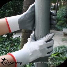 SRSAFETY высококачественные защитные перчатки / нитриловые покрытые маслом защитные перчатки для обслуживания автомобилей