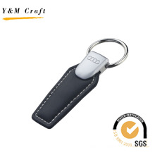 Выдвиженческий Металл Кожа Брелок Ключа Автомобиля Audi Кольцо (Y04032)