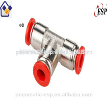brass fittings with plastic sleeve union tee metal fittings MPEP