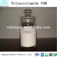 Poliacrilamida para tratamento de água preço de poliacrilamida aniónica