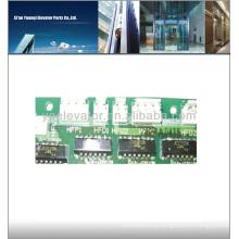 LG placa de circuito del elevador DHF-121, placa del circuito del panel del pcb del elevador de LG