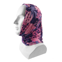 Hot Sale Polyester Printed Durag Turban Bandana With Custom Logo With Premium HeadWrap