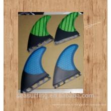 Система Blue ФТС досок для серфинга плавники quilhas де prancha де /весло доски плавники/серфинга плавник с сота трех частей в комплект