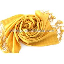 châle en cachemire / laine peignée pashmina