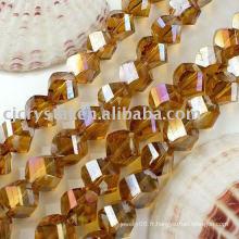 Perles en cristal de facette en cristal 2014, perle de verre en verre