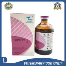 Medicamentos Veterinarios de 5% de Inyección de Oxitetraciclina (50ml / 100ml)