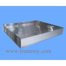 1100, 1050, 1060 Plain Aluminium / Plaque en aluminium pour panneau routier avec finition de moulin