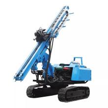 Crawler 3-6 M depth soil or rock pile driver drilling machine