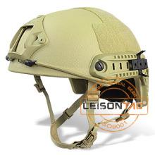 Ballistic Helmet Kevlar Nij Iiia with Accessory Rail Connectors