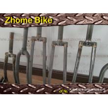 Bicicleta peças/bicicleta garfo/olhais de aço Cromo/garfo aço 4130 Frame e da forquilha Zh15FF02