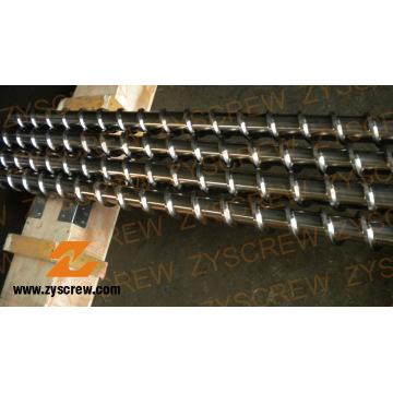 Barril de parafuso para extrusão de cabos de PVC