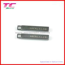 Láser de aleación de zinc Zipper tirador para el equipaje