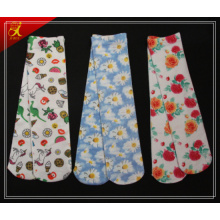 Custom Made Bild gedruckt Polyester Socken Hersteller