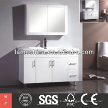 2014 small size wall mounted corner bathroom cabinet