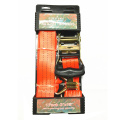"2 ""2T Packaged Ratchet Tie Down correa de amarre roja"
