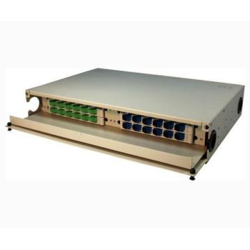 19 Inch Drawer Type Rack Mount Patch Panel / ODF