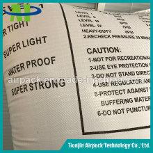 Sacos de ar tecidos PP brancos do Dunnage para o recipiente
