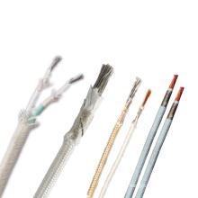 GN500-01 fiberglass braid high temperature fire resistance wire