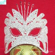 Pequena coroa de máscara bonita