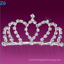 Luxurious crystal wedding combs, cheap hair combs, pageant combs for princess
