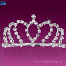 Роскошные кристаллические гребни для свадьбы, дешевые гребни для волос, праздничные гребни для принцессы