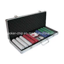 500PCS Покерный чип в квадратном алюминиевом корпусе (SY-S27)